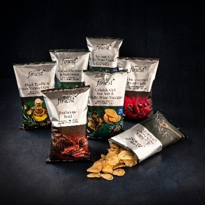Tesco expands finest* crisps range with eight delicious new varieties made from Irish grown potatoes