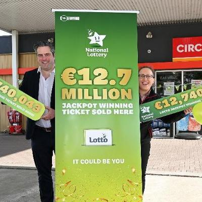 Circle K customer fills up – to the tune of €12.7 million!