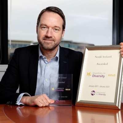 Nestlé Ireland achieves Investors in Diversity Gold Accreditation