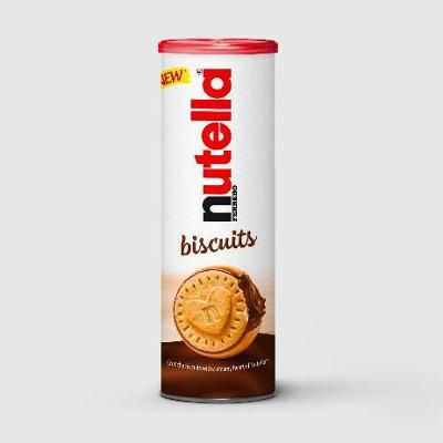 Nutella launches new biscuit range in Ireland