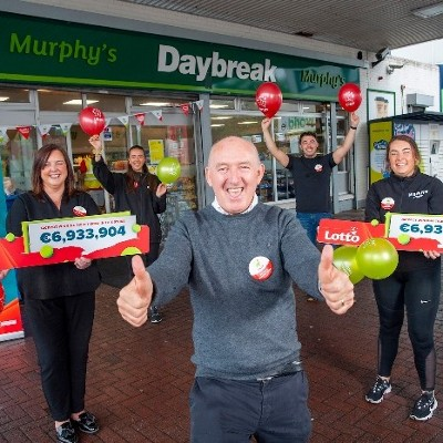 Cork retailer overjoyed that a member of an 'incredibly deserving community' could have won Saturday's €6.9 million Lotto jackpot
