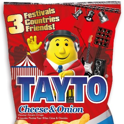 Tayto launches THE Ultimate Festival Competition