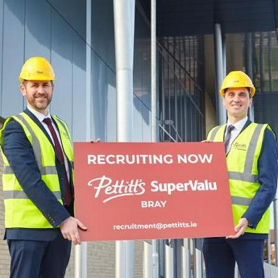 Pettitt's expand family of supermarkets into Bray creating 80 new jobs with new SuperValu