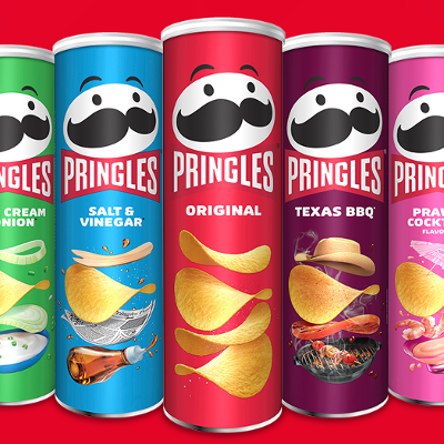 Pringles mascot sports bold new look after first makeover in 20 years