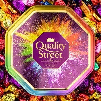 Gifting Solution that's Streets Ahead.. Nestlé Launches Quality Street Personalisation Irish Delivery Service
