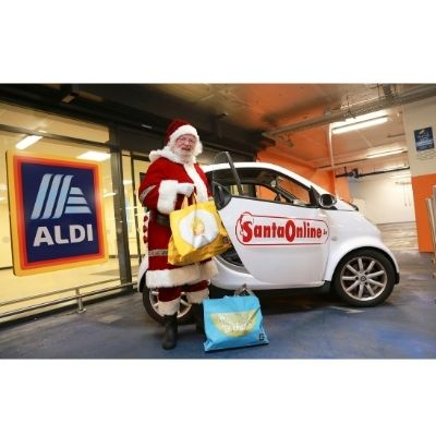 Aldi Ireland to give 100 families the chance to chat with Santa online!