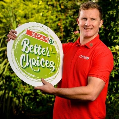 SPAR Teams up with Ciarán Kilkenny to Launch Better Choices Campaign