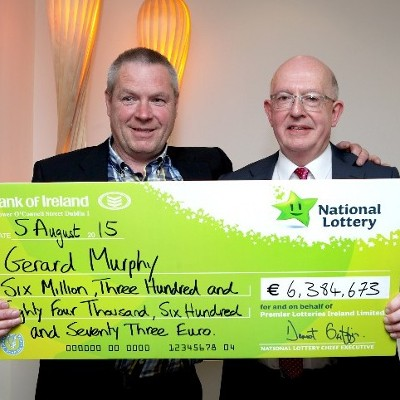 Lotto jackpot hat-trick! Ballinrobe shopkeeper with the Midas touch sells Wednesday's winning €2.8 million ticket