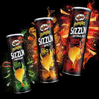 Pringles turns up the heat with new spicy range