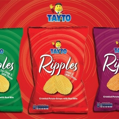 Launch of Tayto Ripples 150g Bags