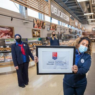 Tesco Ireland recognised as a Best Workplace for Women in Ireland