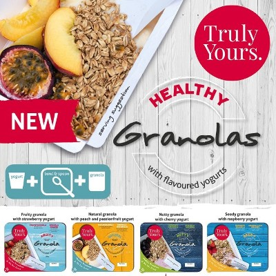 Truly Yours Launches Grab & Go Granola & Yogurt Combo