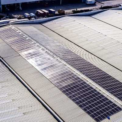 BWG Foods launches ambitious new sustainability strategy with installation of 800 solar panels at National Distribution Centre