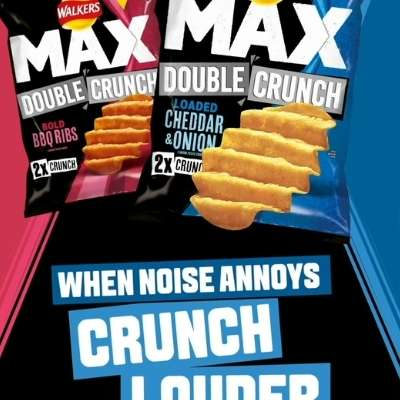 Walkers Double Max Crunch drowns out life in lockdown with new exclusive Irish campaign
