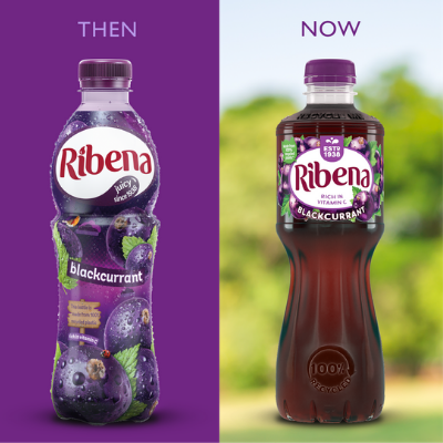 Ribena rolls up its sleeves to ensure bottles can be recycled more than once