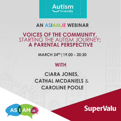 SuperValu and AsIAm to hold 'Voices of the Community' Online Seminar on 24th March