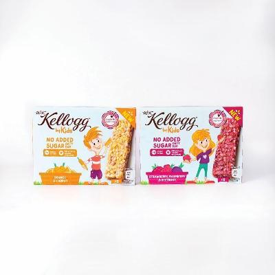 Kellogg's expands W.K Kellogg by Kids range with new snack bar launch