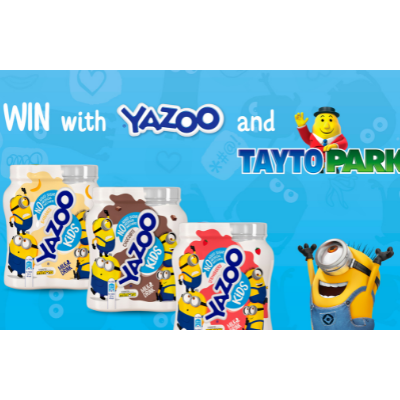 YAZOO team up with Tayto Park for Today FM Competition