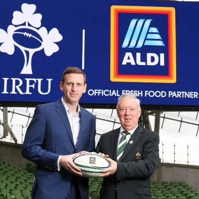 Aldi and the IRFU Team-Up for a 'Fresh' Four-Year Partnership