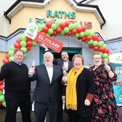 Carlow Lottery win