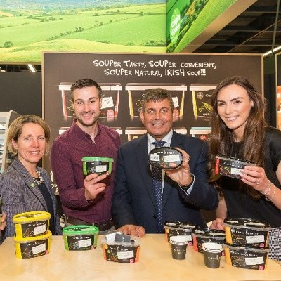 Cully & Sully is one of 35 Irish food and drink companies attending Anuga, the world's largest food fair.