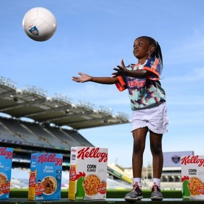 Kellogg's GAA Cúl Camps return for Summer 2021 as Kellogg celebrates 10th year of sponsorship