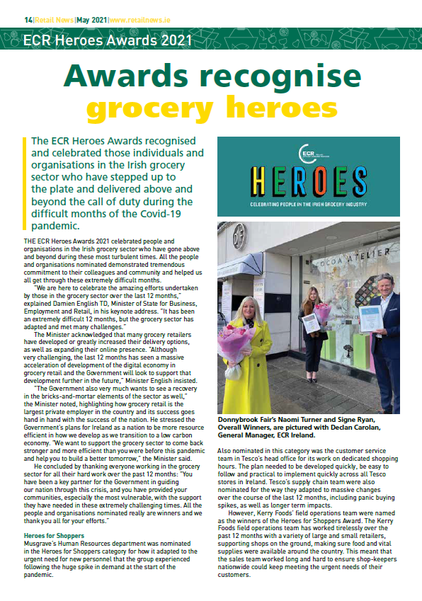 Awards recognise grocery heroes