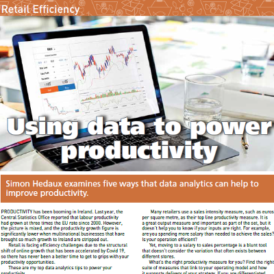 Retail Efficiency - Using data to power productivity