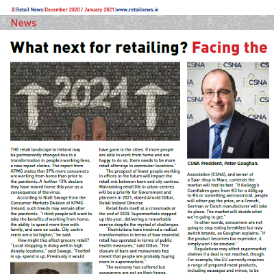 What next for retailing? Facing the challenges of 2021