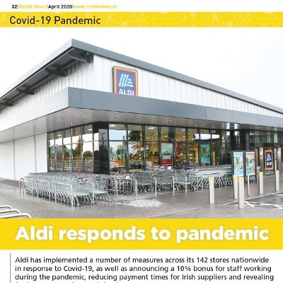 Covid 19 Special: Aldi Responds To Pandemic