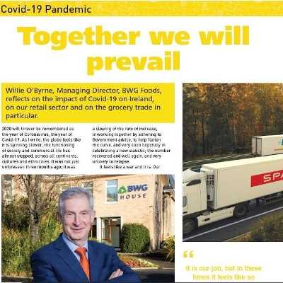 Covid-19 Special: Together We Will Prevail - Willie O'Byrne of BWG Foods