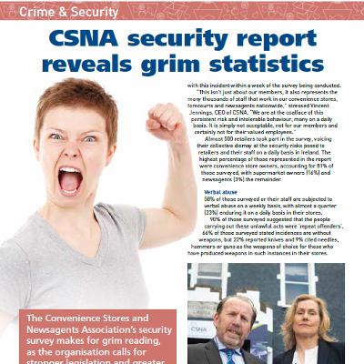 CSNA security report reveals grim statistics