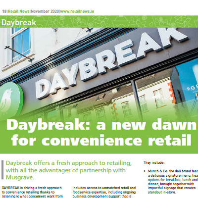 Daybreak: a new dawn for convenience retail