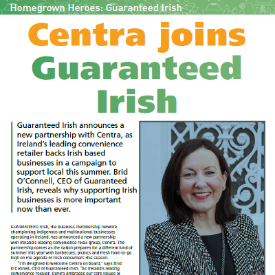 Centra Joins Guaranteed Irish - Interview with Brid O'Connell