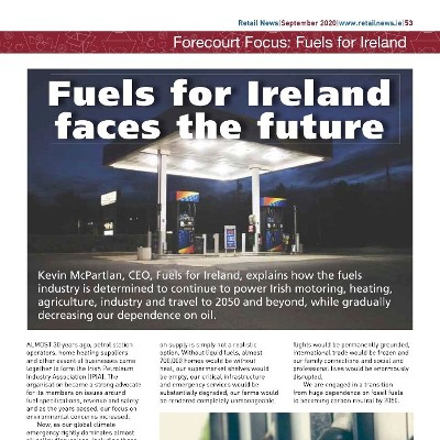 Fuels for Ireland faces the future