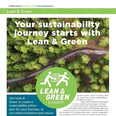 Your sustainability journey starts with Lean & Green