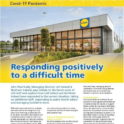 Covid-19 Special: Lidl Responds Positively to A Difficult Time