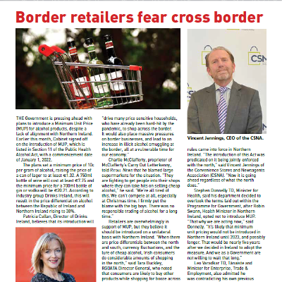Border retailers fear cross-border exodus from MUP