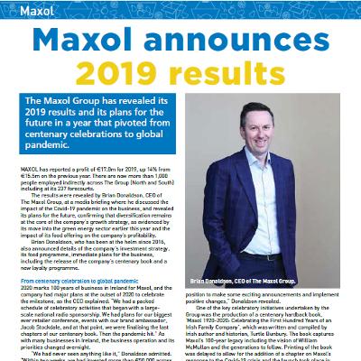 Maxol announces 2019 results