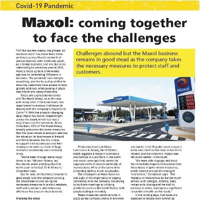 Maxol: Coming Together to Face the Challenges