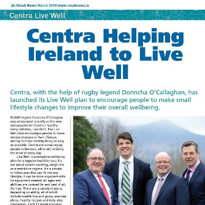 Centra Helping Ireland Live Well