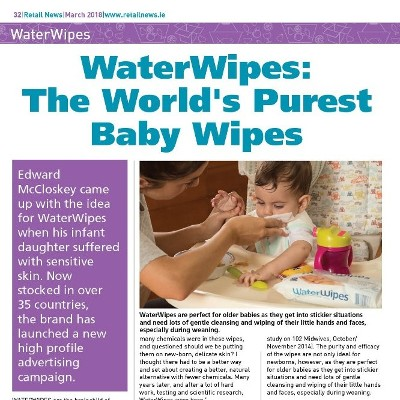 WaterWipes: The World's Purest Baby Wipes
