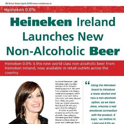Heineken Ireland Launches New Non-Alcoholic Beer
