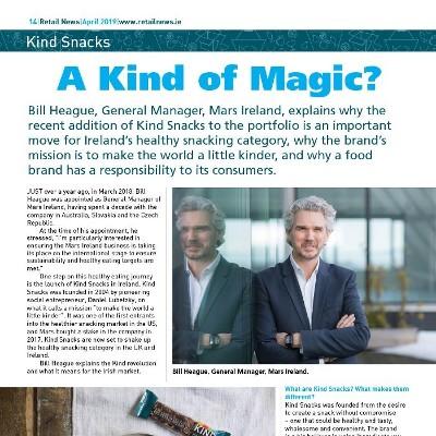 Retail News Interview - Bill Heague - MARS Ireland