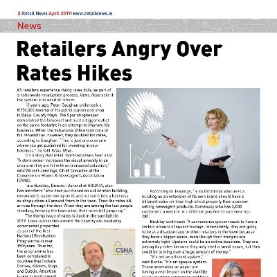 Retailers Angry Over Rates Hikes