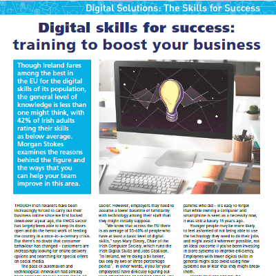 Digital skills for success: training to boost your business