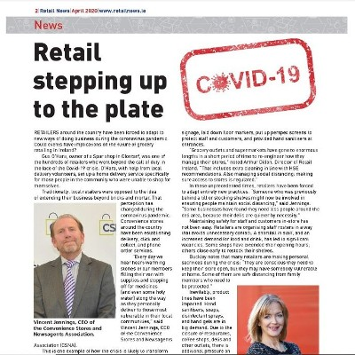 Covid-19 Special - Retail Stepping up to the Plate