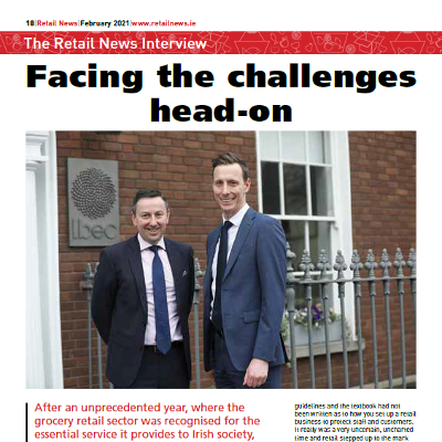 Facing the Challenges Head On - Retail Ireland's Brian Donaldson and Arnold Dillon