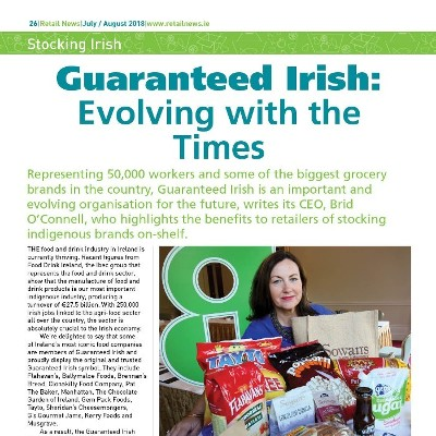 Guaranteed Irish – Brid O'Connell