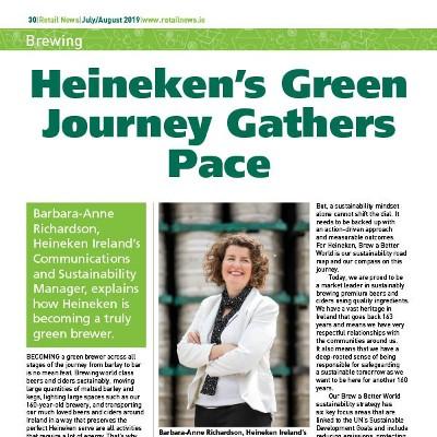 Brewing - Heineken's Green Journey Gathers Pace
